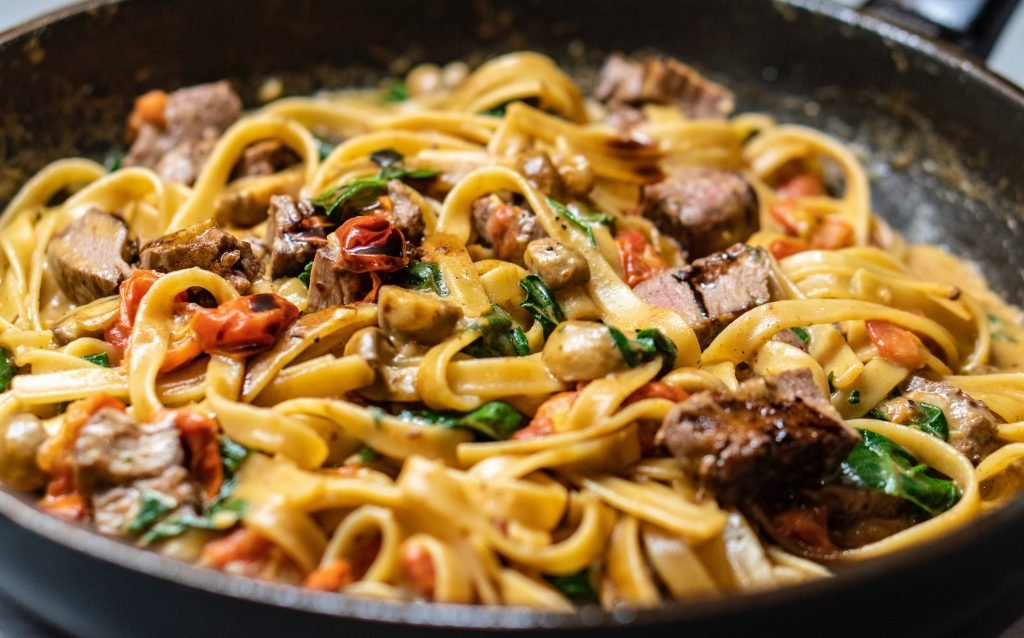 Tomato Linguine or Steak & Tomato Linguine