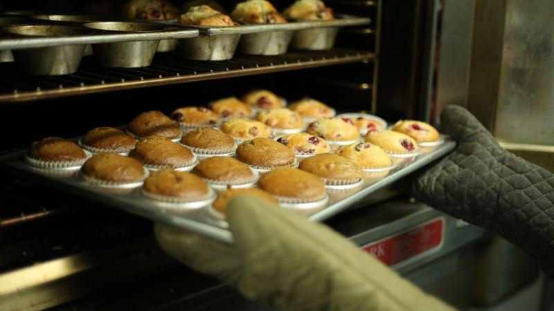 Gluten free Rhubarb Cupcakes
