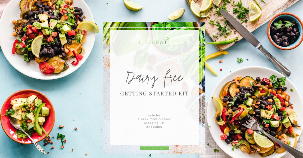 Dairy Free Recipe Ebook