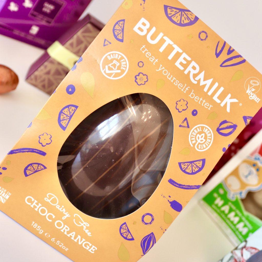Buttermilk Dairy Free Chocolate Orange Egg