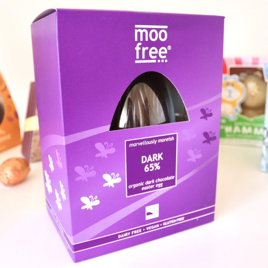 Moo Free Dark 65% Organic Dark Chocolate Easter Egg