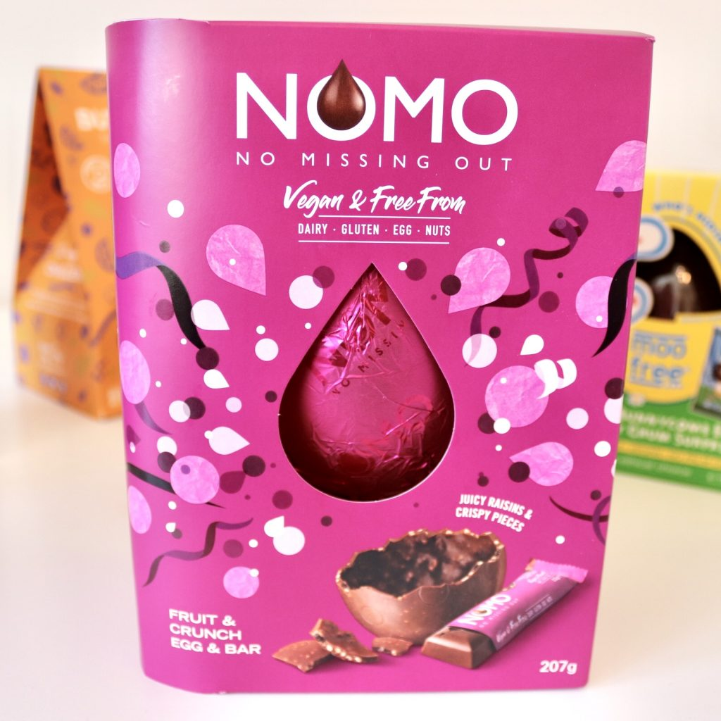 Nomo Fruit and Crunch Egg and Bar 207g