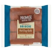 promise gluten free hot dog buns