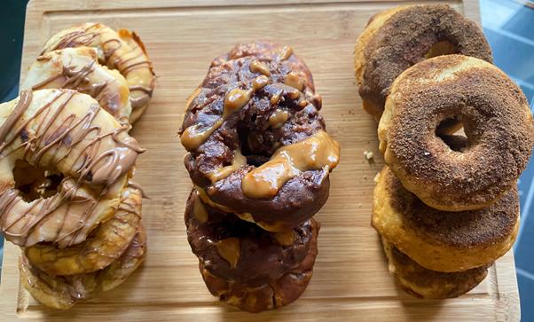 Vegan and Gluten-Free Doughnut