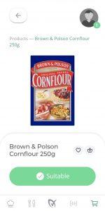 Brown And Polson Cornflour Gluten Free LiberEat