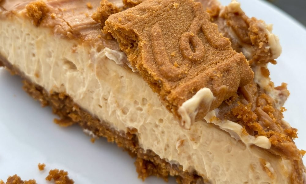 Vegan Biscoff Cheesecake
