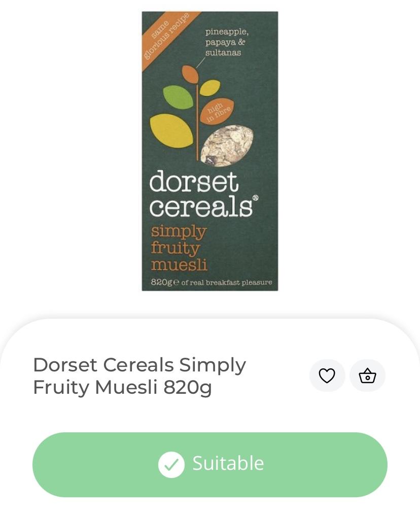 dorset cereals vegan