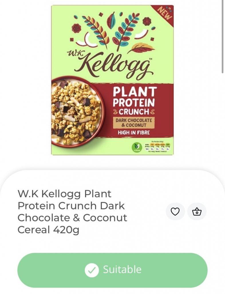 Kellogg Plant Protein Crunch