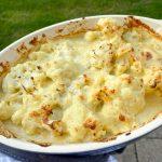 Vegan and gluten-free Cauliflower cheese