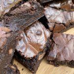 aquafaba brownies