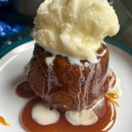 vegan and gluten-free sticky toffee pudding