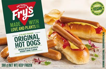 Vegan Hot Dog